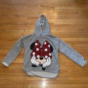 Disney Zara Girls Minnie Mouse Hoodie